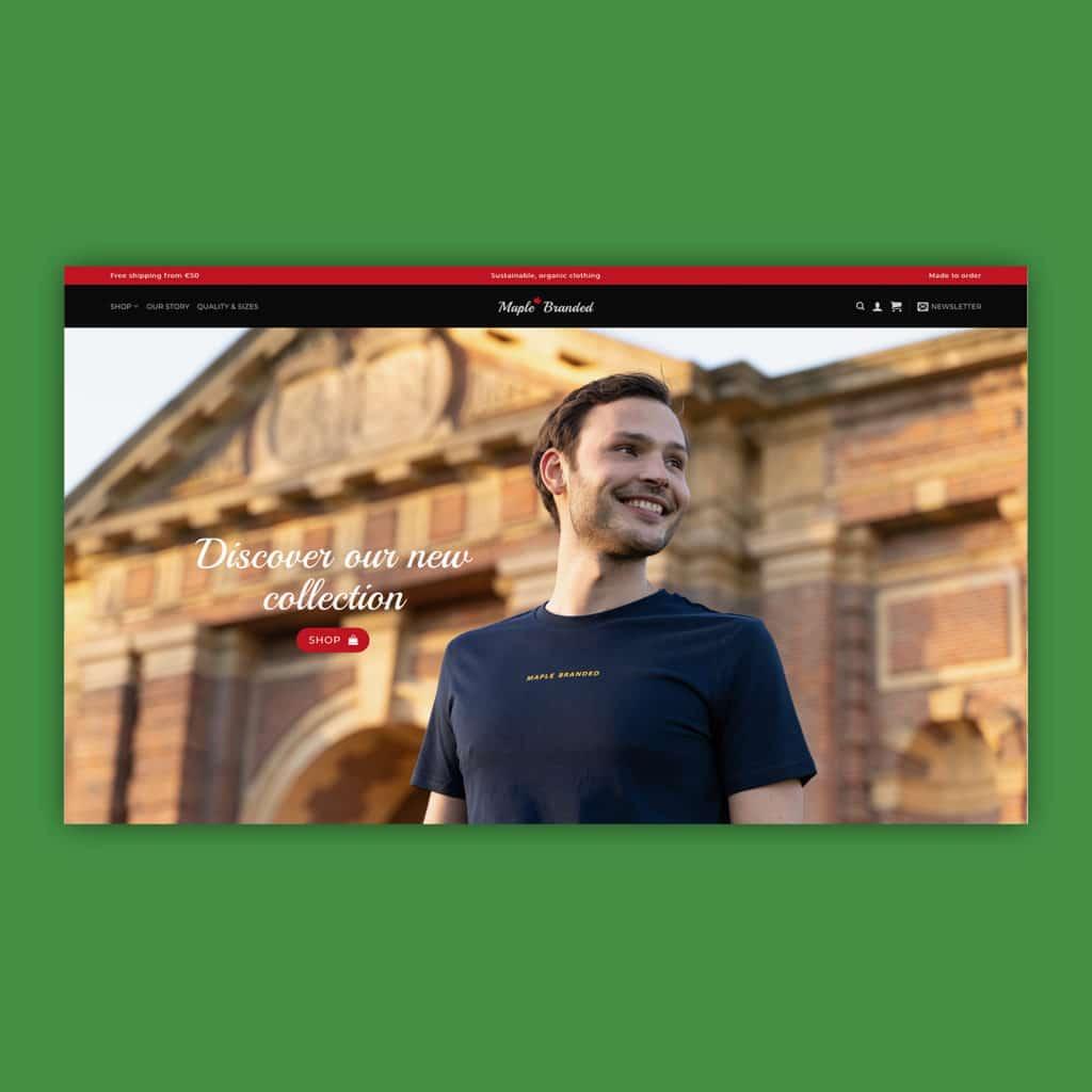Maple Branded webshop