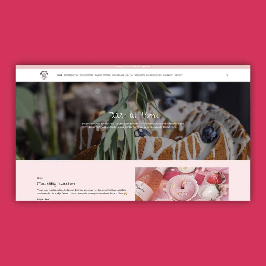 Taartathome website